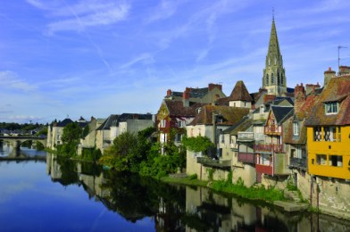 Tourist Places in Berry (Bourges)