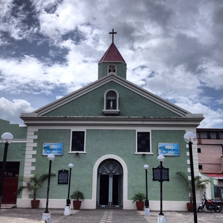 Baler Church Outside