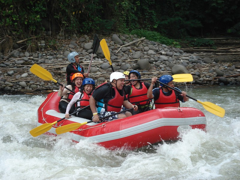 Davao River White Water Rafting