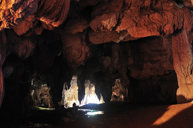Sohoton Cave Exit