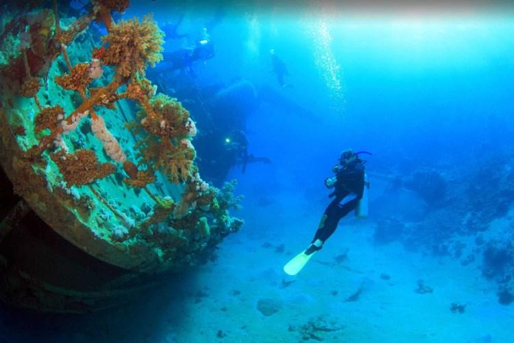 World War II Japanese shipwreck