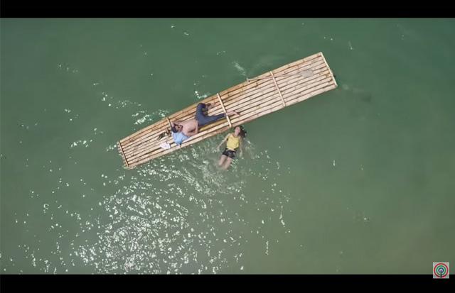 Pangako Sayo Shooting Location in Philippines 2015 Coto River Zambales 5