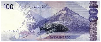 100 Philippine Peso Bill Back