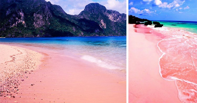 Pink Sand Beach of Sila Island