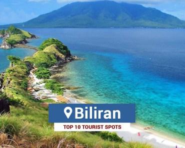 Top 10 Tourist Spots in Biliran