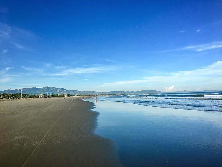 Lingayen Beach Pangasinan
