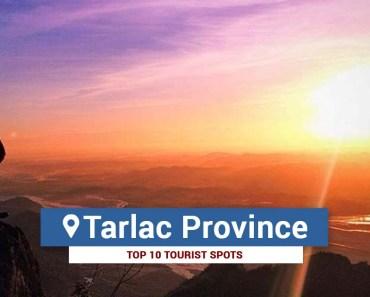 Top 10 Tourist Spots in Tarlac
