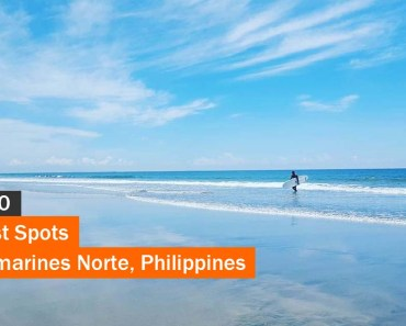 Top 10 Tourist Spots in Camarines Norte