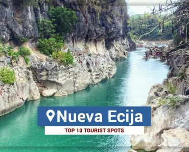 Top 10 Tourist Spots in Nueva Ecija 2