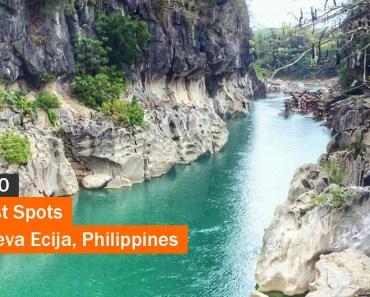 Top 10 Tourist Spots in Nueva Ecija