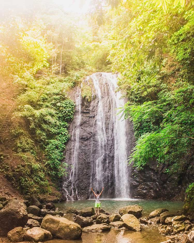 7. Bugtong Bato Falls Antique