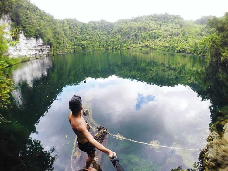 7. Lake Bababu Dinagat Islands