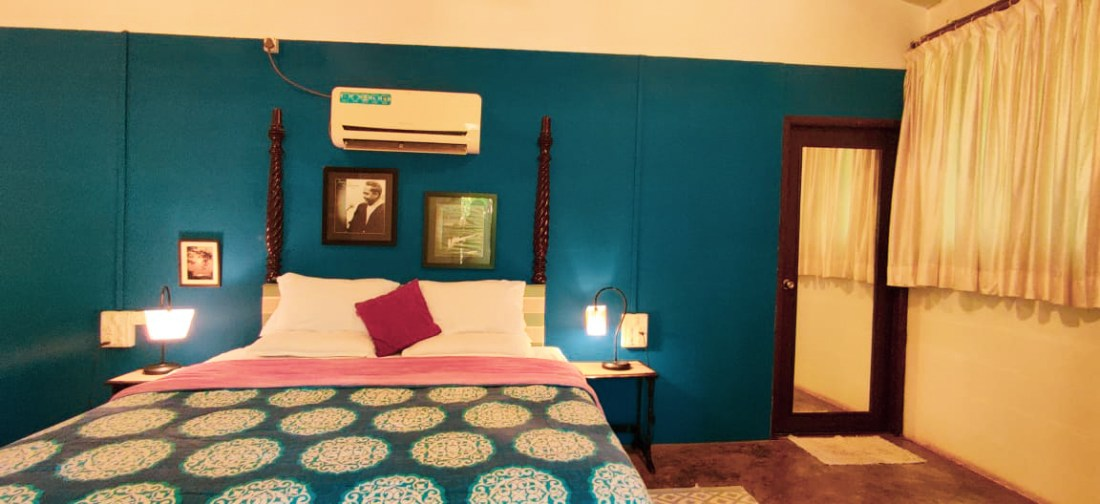 Cozy rooms in Alibaug cottages at Aranya