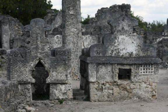 Old Ruins of Bagamoyo Mosques