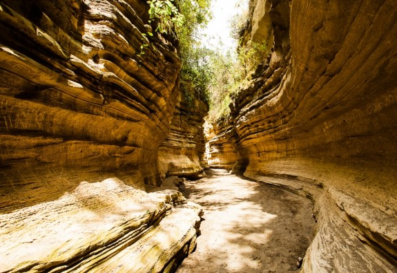 Hell's gate National Park - The Gorge