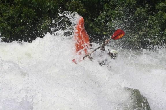 white water rafting at Budhagali falls; source, Jovago.