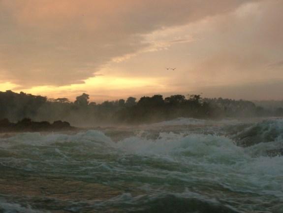 Owen Falls submerged in 1954