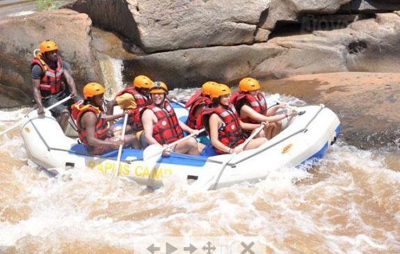 Water rafting in Sagana