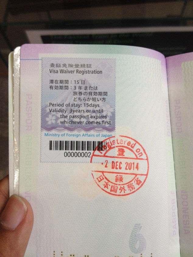 visa bebas ke jepang di epaspor