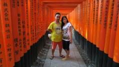 klien tour ke jepang di kyoto fushimi inari