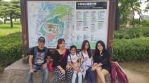 klien tour ke jepang di osaka castle jepang