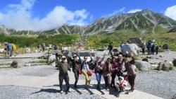 paket tour jepang tetayama alpine route
