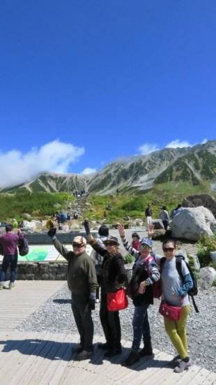 tour ke jepang hiking ke tetayama alpine route
