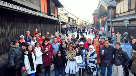 tour jepang kyoto newyear 2015