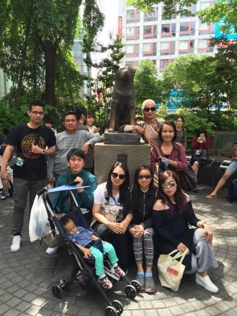 private tour keluarga jepang tokyo mei 2016
