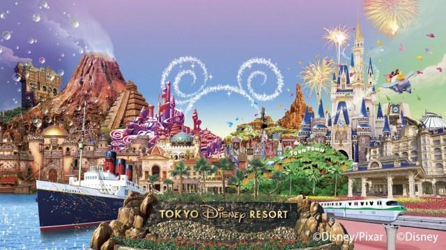 Disneyland di Tokyo Jepang