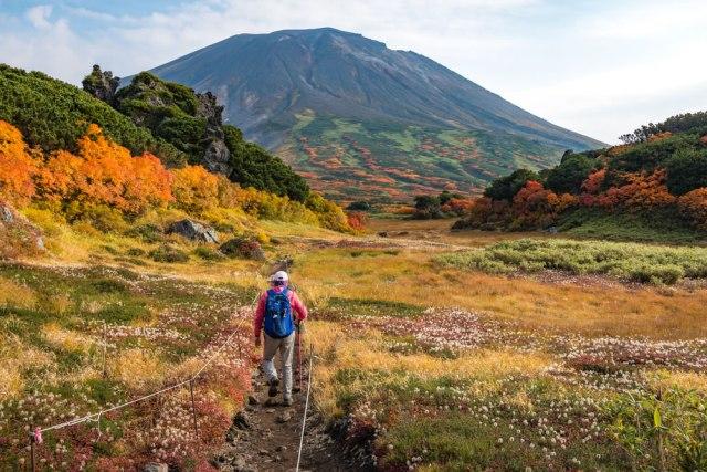 Taman Nasional Daisetsuzan Asahikawa Hokkaido Jepang