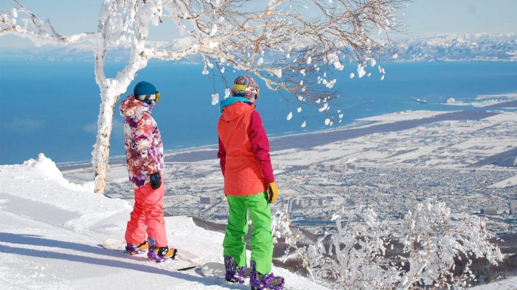 Teine Ski Sapporo Hokkaido Jepang