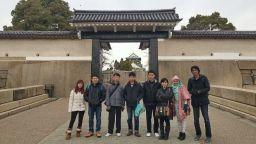 foto peserta tour ke jepang januari 2015