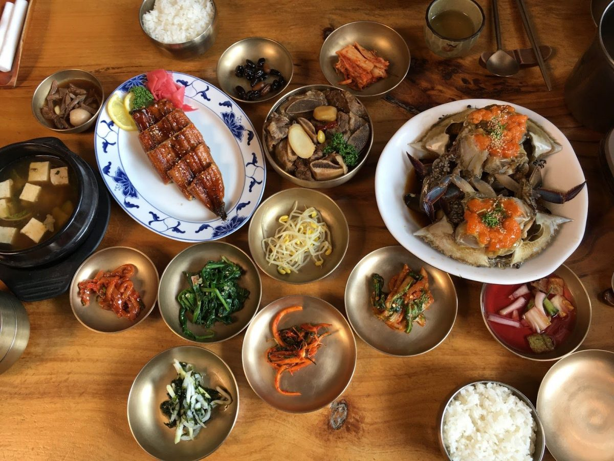 bukchon hanok village Food