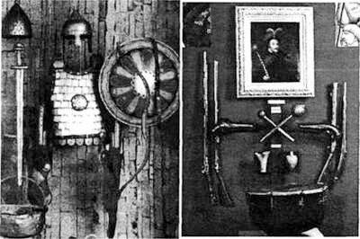 Стенди давньоруського й парадного козацького озброєння Дніпропетровського історичного музею імені Д. Яворницького