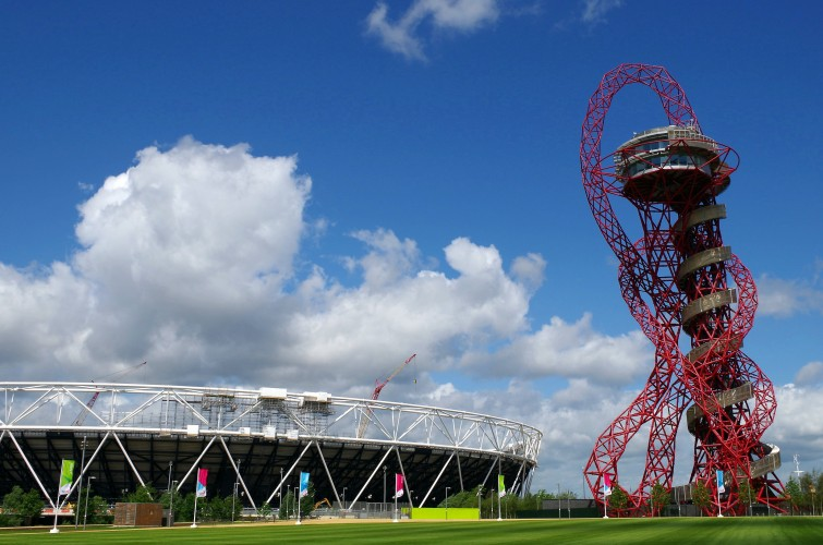 things to do in summer in London Queen Elizabeth Olympic Park