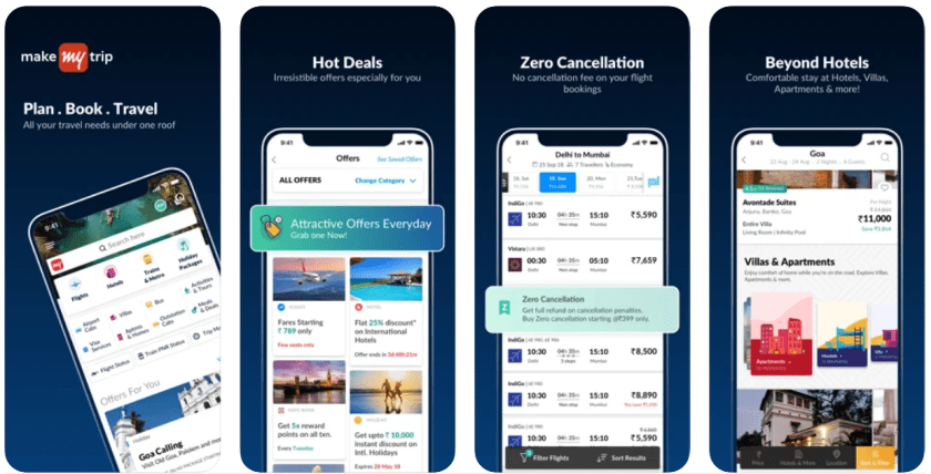 Makemytrip Android Apps