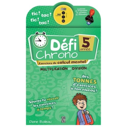 Défi Chrono 5ème année (12ans env)