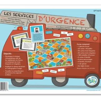 Les services d'urgence (6-7-8 H)