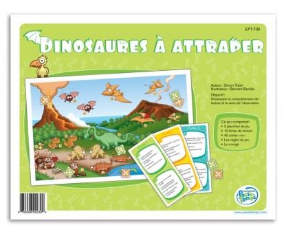 Dinosaures à attraper