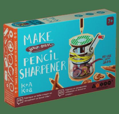 Fabrique un taille-crayon
