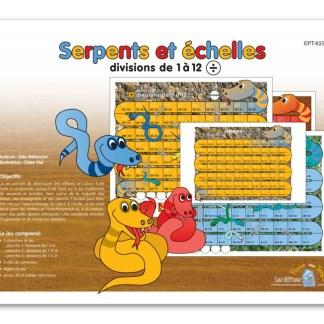 Serpents et échelles - Divisions de 1 à 12