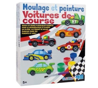 Kit moulage & peinture- voiture