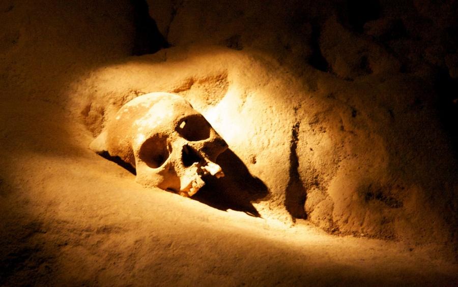 пещера хрустальной девы
