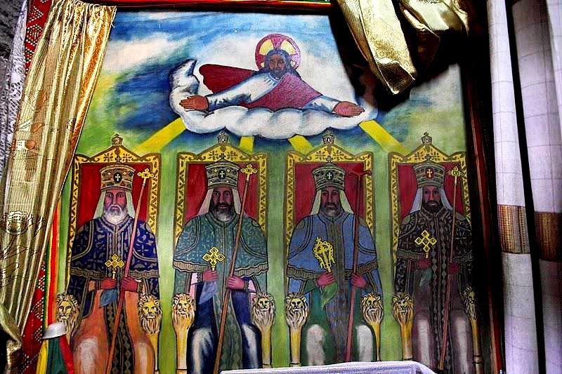 фрески лалибэлы