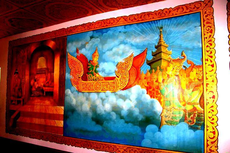 картина буддийского рая