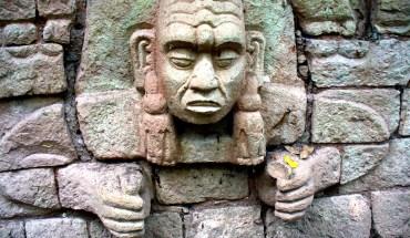 каменный индеец копана