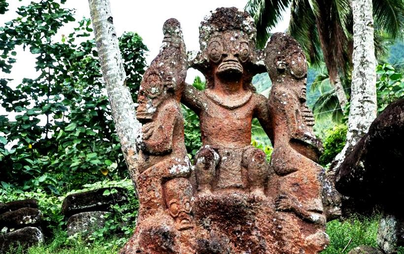 скульптурная композиция темехеа тохуа