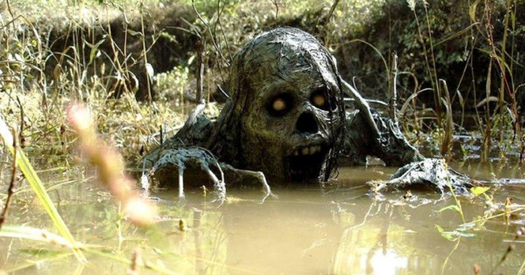 монстр из болота