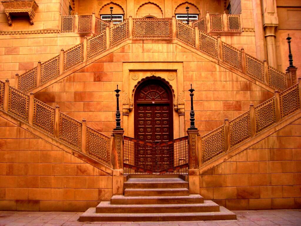 лестница в форте джунагарх